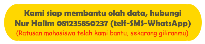Jasa Olah Data SPSS di Purwokerto Murah dan Cepat Satu Hari Selesai