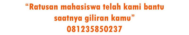 Biro Jasa Olah Data SPSS dan Bab 4 & 5 di Padang