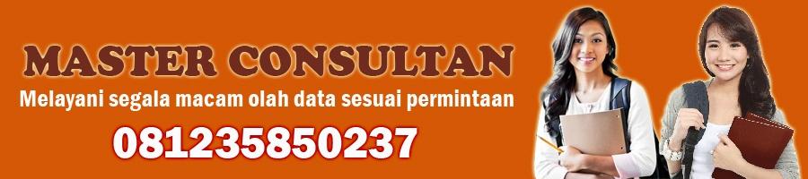 Jasa Pengerjaan Olah Data SPSS Cepat Murah di Bandar Lampung